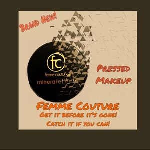 BRAND NEW! Femme Couture ME pressed makeup